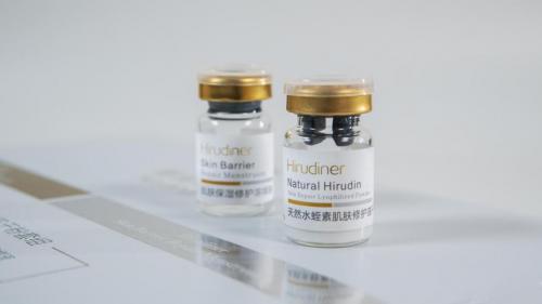 水蛭素是天然的美容品
